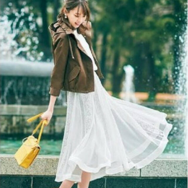 Apuweiser-riche(アプワイザーリッシェ)のApuweiser-riche レースロングスカート レディースのスカート(ロングスカート)の商品写真