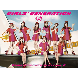 ショウジョジダイ(少女時代)の少女時代 Girls&Peace アルバム(K-POP/アジア)