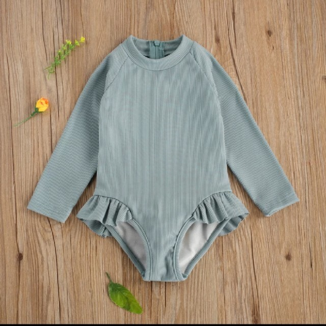 Caramel baby&child (キャラメルベビー&チャイルド)のyoriandotis風 ラッシュガード水着 120 yori otis キッズ/ベビー/マタニティのキッズ服女の子用(90cm~)(水着)の商品写真