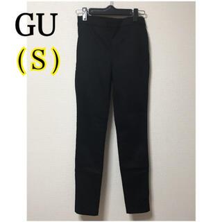 GU - GU  ブラック レギンスパンツ(Sサイズ)