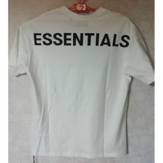 FEAR OF GOD - 新品未使用 ESSENTIALS (エッセンシャルズ)Tシャツ 白 LL相当