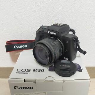 キヤノン(Canon)のEOS M50 (ミラーレス一眼)