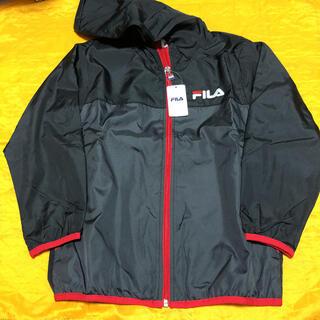 FILA - 新品 FILA ウインドブレーカー ジャケット 130cm レッド