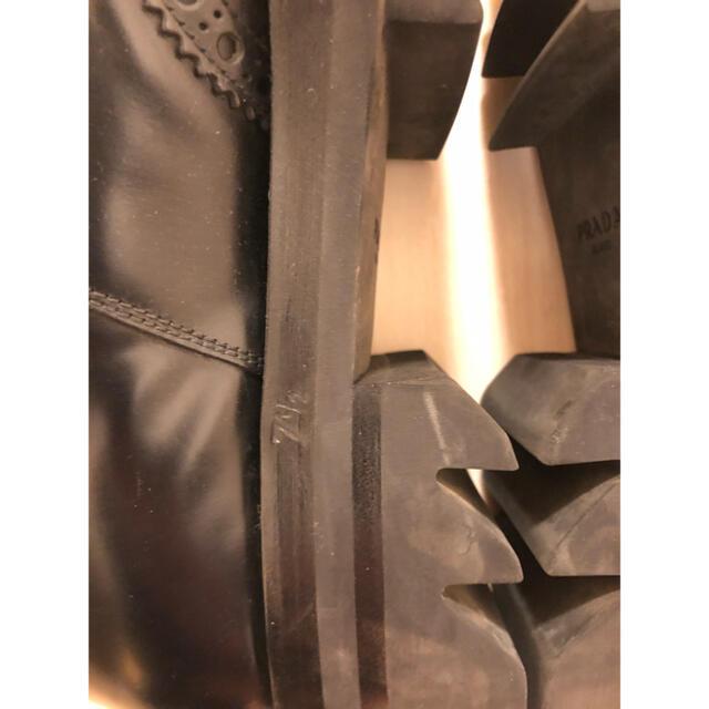 PRADA(プラダ)のPRADA シャークソール 13AW メンズの靴/シューズ(ドレス/ビジネス)の商品写真