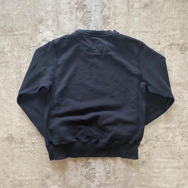 NIKE(ナイキ)の【大人気】ナイキ ワンポイント ロゴ刺繍 スウェット トレーナー L 黒 古着 メンズのトップス(スウェット)の商品写真