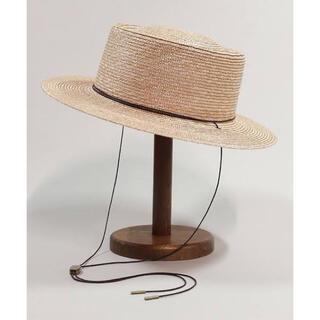 カシラ(CA4LA)のカンカン帽(麦わら帽子/ストローハット)