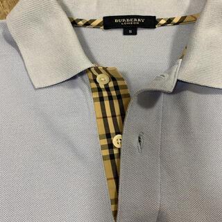 バーバリー(BURBERRY)のバーバリー 長袖 ポロシャツ 美品(ポロシャツ)