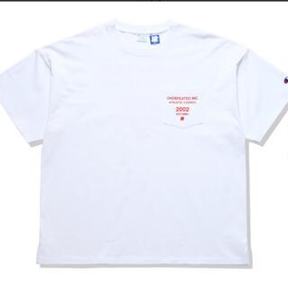 アンディフィーテッド(UNDEFEATED)のUNDEFEATED CHAMPION  TEE C8-T325 白Tシャツ(Tシャツ/カットソー(半袖/袖なし))