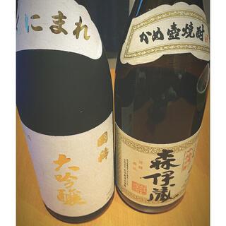国稀、森伊蔵空瓶(焼酎)