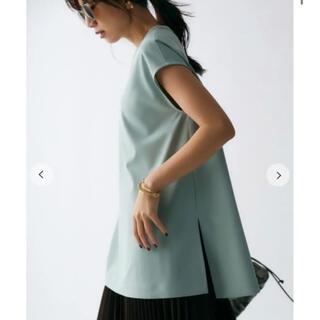 Mila Owen - 完売サイズ【新品タグ付】milaowen Tシャツライクノースリーブブラウス