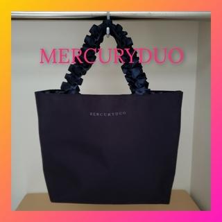 MERCURYDUO - MERCURYDUO♡フリルリボントートバッグ ミニバッグ エコバッグ