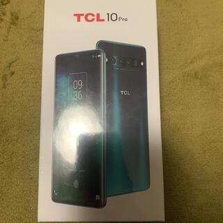アンドロイド(ANDROID)のTCL 10 Pro Ember Gray エンバーグレイ(スマートフォン本体)