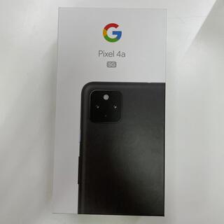 グーグル(Google)のGoogle Pixel 4a(5G)JustBlack128GB SIMフリー(スマートフォン本体)