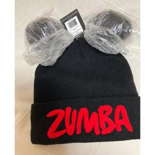 ズンバ(Zumba)の新品未使用タグ付き ニット帽(ニット帽/ビーニー)