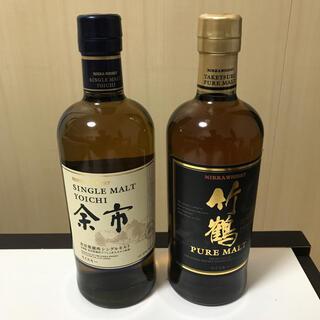 ニッカウイスキー(ニッカウヰスキー)の竹鶴ピュアモルト 余市(ウイスキー)