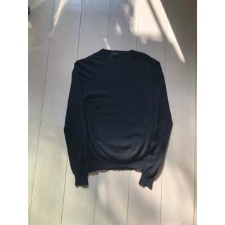 PRADA - PRADA ニット ブラック セーター