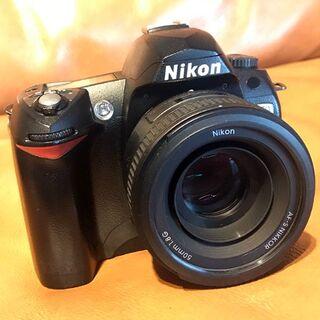 Nikon - 【単焦点レンズセット】ニコン Nikon D70(SDカード付き)