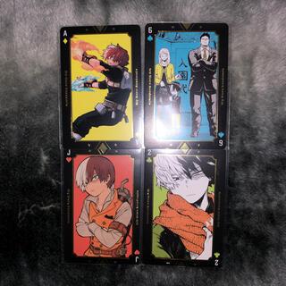 シュウエイシャ(集英社)の僕のヒーローアカデミア ヒロアカ展 轟焦凍 箔押しトランプ(キャラクターグッズ)