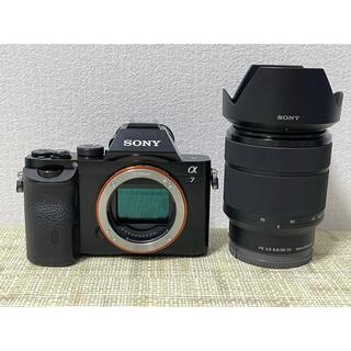 SONY - SONY ソニーα7 ズームレンズキット フルサイズ Wi-Fi内蔵