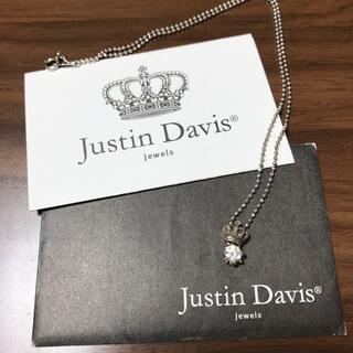 ジャスティンデイビス(Justin Davis)のジャスティン デイビス ネックレス クラウン 王冠(ネックレス)