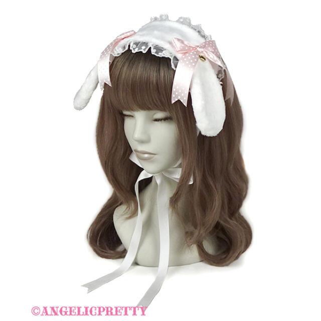 Angelic Pretty(アンジェリックプリティー)のAngelic Pretty♡ロップイヤーBunny ベッドドレス レディースのファッション小物(その他)の商品写真