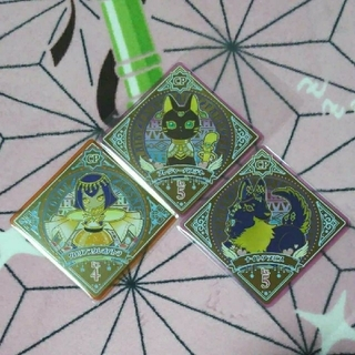 アイカツ(アイカツ!)の3弾 アイカツプラネット キャンペーン3種セット(キャラクターグッズ)