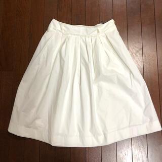 イネド(INED)のフェミニンスカート(ひざ丈スカート)
