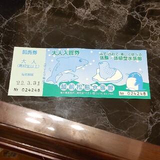 越前松島水族館チケット(水族館)