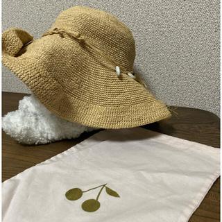 Bonpoint - bonpoint  ラフィア帽 ボンポワン 値下交渉可能