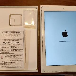 アイパッド(iPad)のApple iPad Air iPad Air Wi-Fi 16GB シルバー(タブレット)