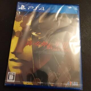 PlayStation4 - 新品 真・女神転生III ノクターン HDリマスター PS4