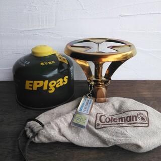 Coleman - 【美品・点火確認済】コールマン パルテノンストーブバーナー収納袋OD缶付き