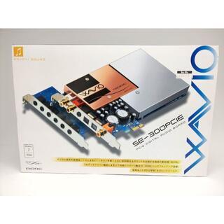 オンキヨー(ONKYO)の【動作確認済】ONKYO WAVIO SE-300PCIE 初期版(日本製)美品(PCパーツ)