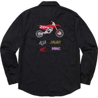 Supreme - supreme×honda fox racing work shirts