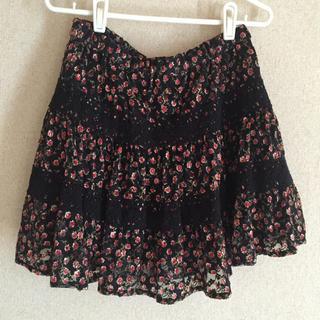 シマムラ(しまむら)のしまむら 小花柄スカート(ミニスカート)