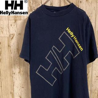 ヘリーハンセン(HELLY HANSEN)のヘリーハンセン tシャツ カットソー ビックプリントロゴ メンズ 古着(Tシャツ/カットソー(半袖/袖なし))
