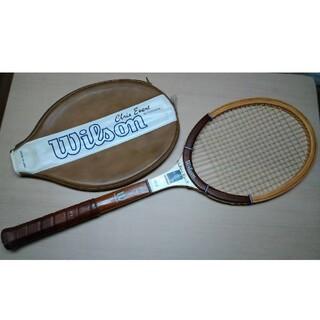 ウィルソン(wilson)のクリスエバートモデル ウッド 硬式テニスラケット(ラケット)