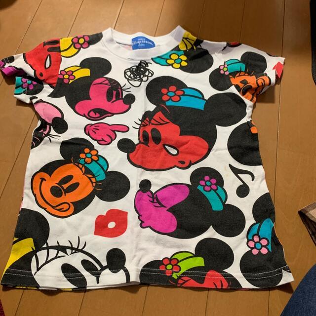 Disney(ディズニー)のディズニーリゾート総柄Tシャツ キッズ/ベビー/マタニティのキッズ服女の子用(90cm~)(Tシャツ/カットソー)の商品写真