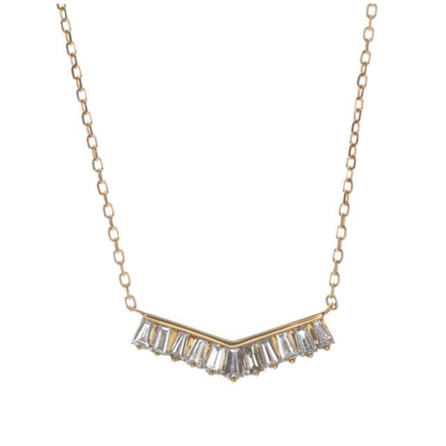 agete(アガット)のベルシオラ ダイヤモンド ネックレス レディースのアクセサリー(ネックレス)の商品写真