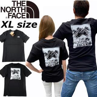 THE NORTH FACE - ノースフェイス Tシャツ 半袖 ボックス マウンテン NF0A559V 黒 XL