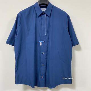 Hermes - 国内正規品 極美品 エルメス 18SS〜 半袖 ボタンシャツ 42 コットン!