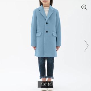 GU - GU ジーユー GIRLSウールブレンドチェスターコート