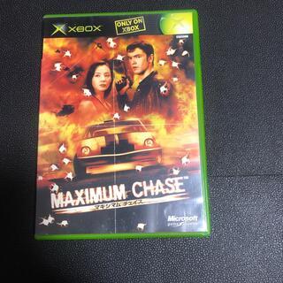 エックスボックス(Xbox)のマキシマムチェイス(家庭用ゲームソフト)