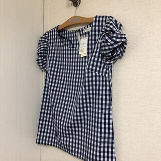 グローブ(grove)の新品 グローブ 袖がかわいい♪ 半袖トップス L(カットソー(半袖/袖なし))