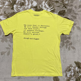 NEIGHBORHOOD - ROUGH AND RUGGED tee ラフアンドラゲッド tシャツ m 黄色