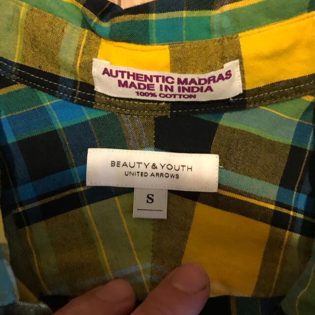 BEAUTY&YOUTH UNITED ARROWS(ビューティアンドユースユナイテッドアローズ)のユナイテッドアローズ チェックシャツ メンズのトップス(シャツ)の商品写真