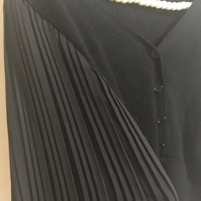 GRL(グレイル)のGRL 袖プリーツニットトップス レディースのトップス(ニット/セーター)の商品写真