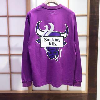 ヴァンキッシュ(VANQUISH)の#FR2撫子 smoking kills ロンT(Tシャツ/カットソー(七分/長袖))