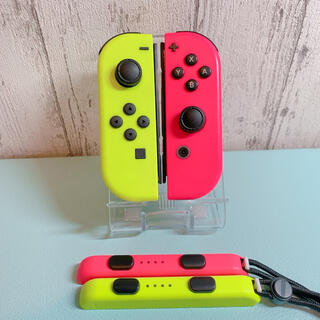 Nintendo Switch - 美品 人気カラー ピンク イエロー Switch 左右セット ジョイコン