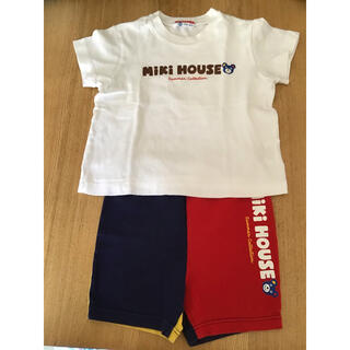mikihouse - GWsale☆ミキハウス☆90センチ☆Tシャツ短パンセット